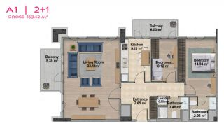 Spacious Apartments with Private School in Istanbul, Property Plans-9