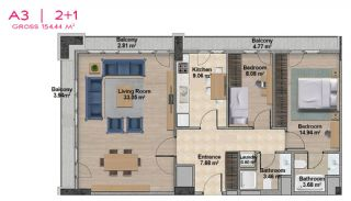 Spacious Apartments with Private School in Istanbul, Property Plans-11