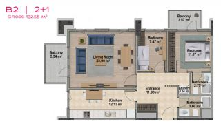Spacious Apartments with Private School in Istanbul, Property Plans-13