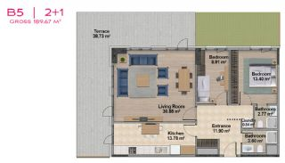 Spacious Apartments with Private School in Istanbul, Property Plans-16