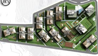 Luxury Basaksehir Apartments Intertwined with Greenery, Property Plans-2