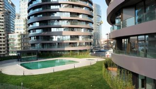 Sophisticate Designed Flats in the Trade Center of Istanbul, Istanbul / Bakirkoy - video