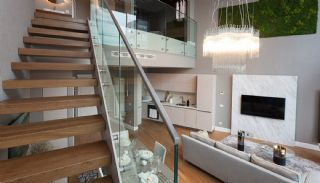 Sophisticate Designed Flats in the Trade Center of Istanbul, Interior Photos-2