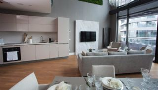 Sophisticate Designed Flats in the Trade Center of Istanbul, Interior Photos-7