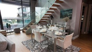 Sophisticate Designed Flats in the Trade Center of Istanbul, Interior Photos-9