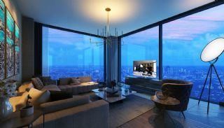 Contemporary Apartments Facing Highway in Istanbul, Interior Photos-1