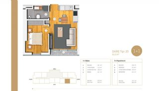 Exclusive Apartments Near E-5 Highway in Istanbul, Property Plans-1