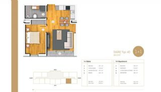Exclusive Apartments Near E-5 Highway in Istanbul, Property Plans-2