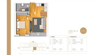 Exclusive Apartments Near E-5 Highway in Istanbul, Property Plans-3