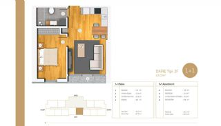 Exclusive Apartments Near E-5 Highway in Istanbul, Property Plans-4