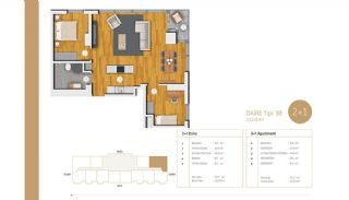 Exclusive Apartments Near E-5 Highway in Istanbul, Property Plans-7