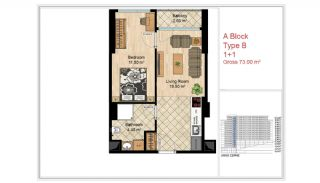 Quality Apartments Close to Social Facilities in Istanbul, Property Plans-2