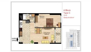 Quality Apartments Close to Social Facilities in Istanbul, Property Plans-3