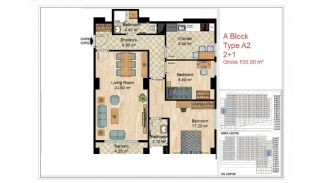 Quality Apartments Close to Social Facilities in Istanbul, Property Plans-4