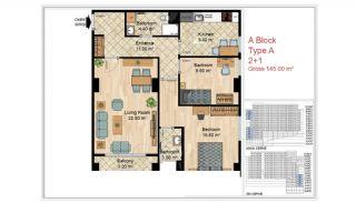Appartements Qualité Près Des Commodités Sociales Istanbul, Projet Immobiliers-5