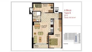 Quality Apartments Close to Social Facilities in Istanbul, Property Plans-7