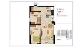 Quality Apartments Close to Social Facilities in Istanbul, Property Plans-8