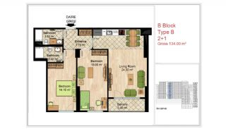Quality Apartments Close to Social Facilities in Istanbul, Property Plans-10