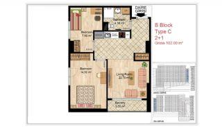 Appartements Qualité Près Des Commodités Sociales Istanbul, Projet Immobiliers-11