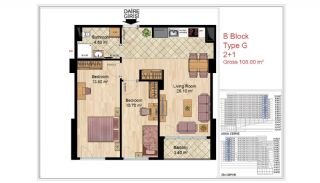 Quality Apartments Close to Social Facilities in Istanbul, Property Plans-12