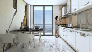 Sea and Island Views Istanbul Flats with Smart Home System, Interior Photos-6