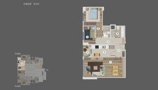 Умные Квартиры с Видом на Море и Остров в Стамбуле, Планировка -1