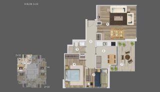 Умные Квартиры с Видом на Море и Остров в Стамбуле, Планировка -16