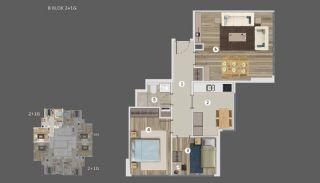 Умные Квартиры с Видом на Море и Остров в Стамбуле, Планировка -18