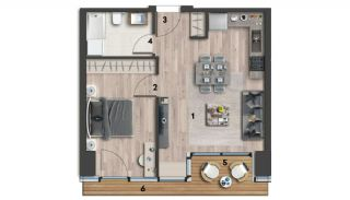 Eco-Friendly Apartments on the Asian Side of Istanbul, Property Plans-2