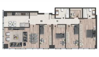 Eco-Friendly Apartments on the Asian Side of Istanbul, Property Plans-9