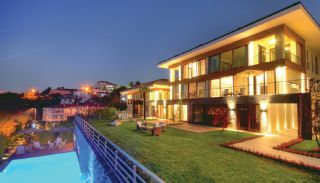 Panoramic Bosphorus View Semi-Detached Houses in Istanbul, Istanbul / Beykoz - video