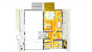Panoramic Bosphorus View Semi-Detached Houses in Istanbul, Property Plans-3