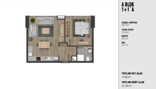 New Luxury Properties Near the TEM Highway in Istanbul, Property Plans-1