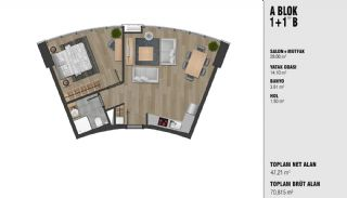 New Luxury Properties Near the TEM Highway in Istanbul, Property Plans-2