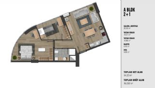 New Luxury Properties Near the TEM Highway in Istanbul, Property Plans-3