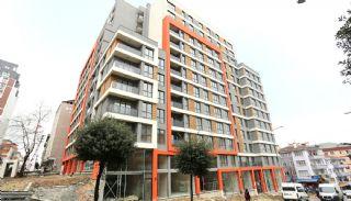 Modern Ontworpen Appartementen in Istanbul Kucukcekmece, Bouw Fotos-5