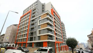 Modern-Designed Apartments in Istanbul Kucukcekmece, Construction Photos-6