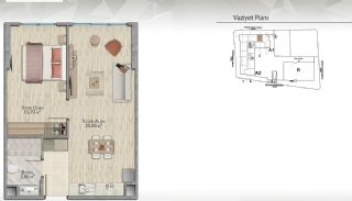 Modern-Designed Apartments in Istanbul Kucukcekmece, Property Plans-1