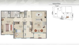 Modern-Designed Apartments in Istanbul Kucukcekmece, Property Plans-2