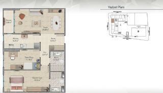 Modern-Designed Apartments in Istanbul Kucukcekmece, Property Plans-5