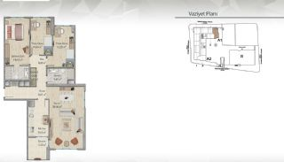 Modern-Designed Apartments in Istanbul Kucukcekmece, Property Plans-7