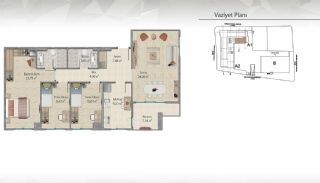 Modern-Designed Apartments in Istanbul Kucukcekmece, Property Plans-8