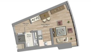 Appartements Prêts Istanbul Et Bureaux à Domicile, Projet Immobiliers-1