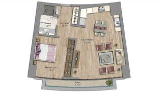 Appartements Prêts Istanbul avec Bureaux à Domicile, Projet Immobiliers-2