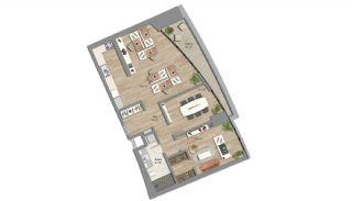 Appartements Prêts Istanbul avec Bureaux à Domicile, Projet Immobiliers-5