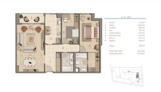 Apartments in Istanbul Near the Important Points of the City, Property Plans-2