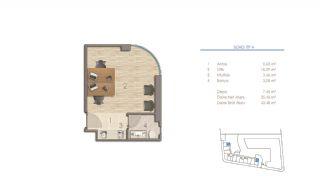 Lägenheter i Istanbul Nära Viktiga Punkter i Staden, Planritningar-8