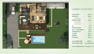 Detached Villas Interwined with Nature in Istanbul, Property Plans-1