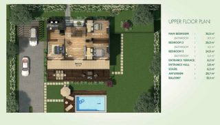 Detached Villas Interwined with Nature in Istanbul, Property Plans-2