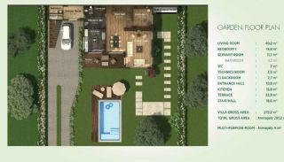 Detached Villas Interwined with Nature in Istanbul, Property Plans-3